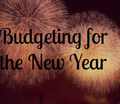 Budgeting for the New Year