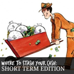 Where to stash your cash short term edition
